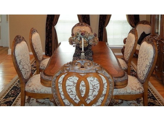 Aico By Michael Amini Dining Room Set, Aico Dining Room Chairs